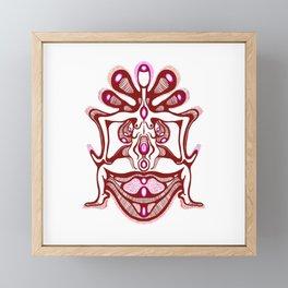 Goddess Stance Framed Mini Art Print