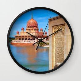 Putra Mosque Malaysia Wall Clock