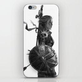 Warrior 6 iPhone Skin