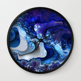 The Wake of thy Spirit's Passage Wall Clock