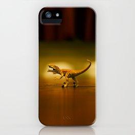 Jurassic Park Raptor  iPhone Case