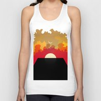 2001 Tank Tops featuring 2001 Monolith by Andras Wobe Kocsis