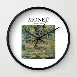 Monet - The Water Lily Pond Wall Clock