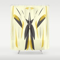 knight Shower Curtains featuring Knight by lillianhibiscus