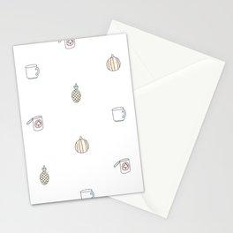 Je suis l'automne Stationery Cards