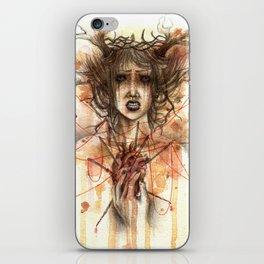 regina di cuori iPhone Skin