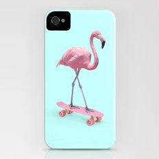 SKATE FLAMINGO iPhone (4, 4s) Slim Case
