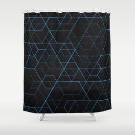 Geometric pattern 022 Shower Curtain