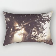 dawn in the day Rectangular Pillow