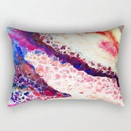 A Modern Leopard Print Abstract Rectangular Pillow