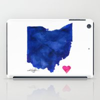 ohio iPad Cases featuring Ohio by Kathy Morton Stanion