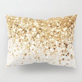 Sparkling Gold Glitter Glam #2 #shiny #decor #art #society6 Pillow Sham