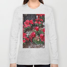 Christmas Surprise, red Long Sleeve T-shirt