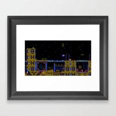 Casino Night Framed Art Print