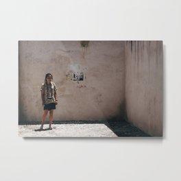 Corner Portrait  Metal Print