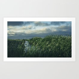Be Still. Art Print