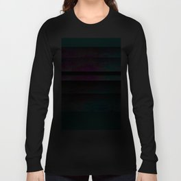 Turquoise Color Blinds Long Sleeve T-shirt