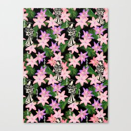 JAPANESE tropical Canvas Print