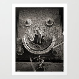Architectural Smile Art Print