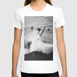 Surfer Launches Off Wave T-shirt