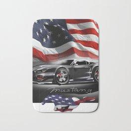American Sport Car - LifeStyle Accessories & T-Shirts Bath Mat