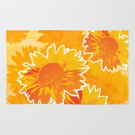 Sunflower Jubilee Rug
