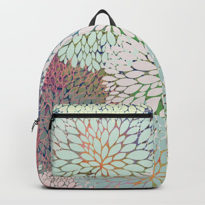 Abstract Floral Petals 3 Backpack