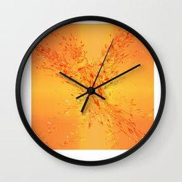 Legend of Nebula Cover Wall Clock