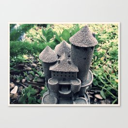 Garden Castle  Canvas Print