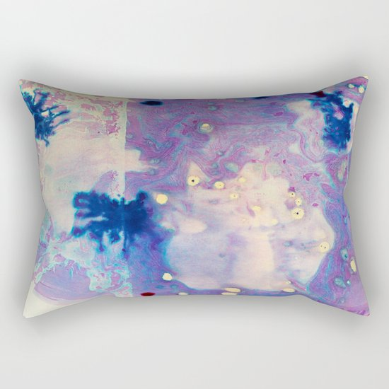 Psychedelic Vibes Rectangular Pillow