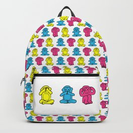 Three Wise Monkeys Backpack