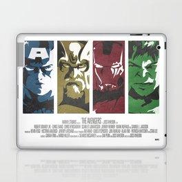 Vintage Avengers Film Poster Laptop & iPad Skin