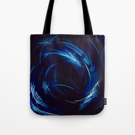 Riding The Stars To Daylight Tote Bag