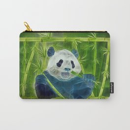 abstract panda Carry-All Pouch