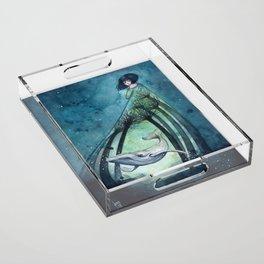 Ocean's lullaby Acrylic Tray