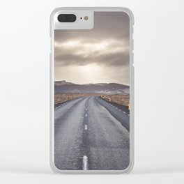 Route 1 - Landscape and Nature Photography Clear iPhone Case