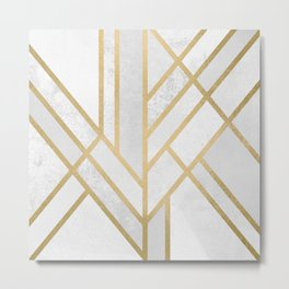 Art Deco Geometry 2 Metal Print