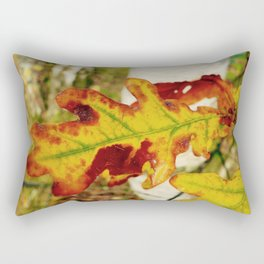 Fall Oak Rectangular Pillow