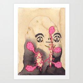 Ayo Maggots Art Print