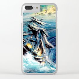 Maelstrom Clear iPhone Case