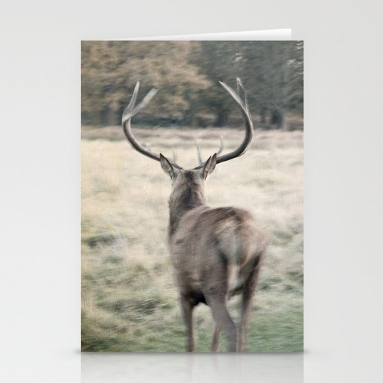 Deer III Stationery Cards