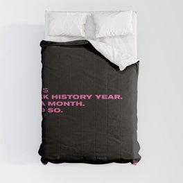 P. Diddy - Puff Daddy - Sean Combs Instagram Post 2/1/21 - Black History Month - Year Statement 775 Comforters