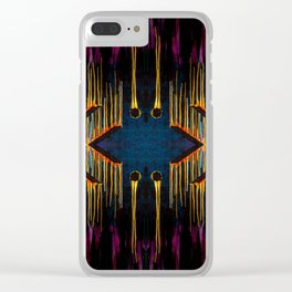 Chaos Consumes Civilization Clear iPhone Case
