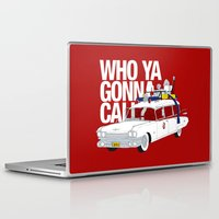 ghostbusters Laptop & iPad Skins featuring Ghostbusters by Martin Lucas