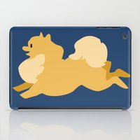 pomeranian iPad Cases featuring Precious Pomeranian Primary by Emily Woodson