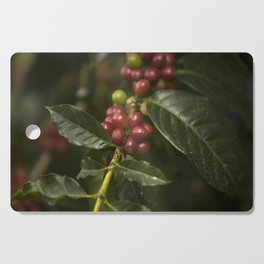 Coffee Seeds Cutting Board