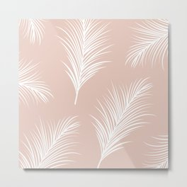 Palm Leaves Print V2 Metal Print