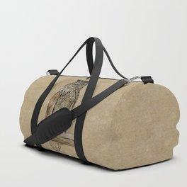 Paper Bag Owl Duffle Bag