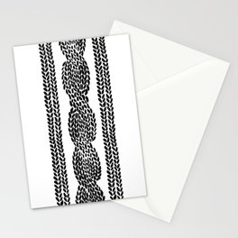 Cable Row Stationery Cards