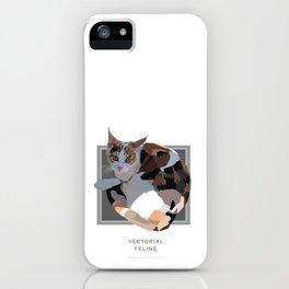Vectorial Feline iPhone Case